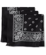 Levi's Men's Printed Bandana Set,black,One Size - $20.39