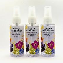 3-Pack Bath & Body Works HONEY WILDFLOWER Fragrance Mist Spray 3 oz Trav... - $21.73