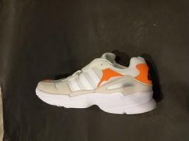 Adidas Men Yung-96 Brown White Orange Sneakers Shoes F97179 Size 11.5 - $65.00