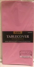 """Amscan Plastic Table Cover  54"""" x 108"""" (40.5 Sq Ft) Light Pink  Cover - $11.57"""