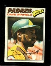 1977 Topps #390 Dave Winfield Vg (WAX-BK) Padres Hof *X4863 - $1.73