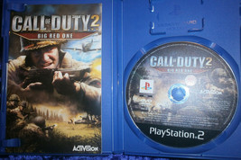Call of Duty 2 Big Red One 2006 Activision PS2 Game - $20.86