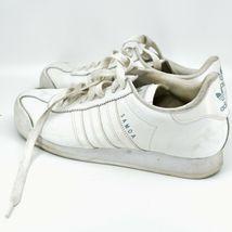 Adidas Samoa Women's White Lace Up Athletic Sneaker Shoes Size 10 G20682 image 3
