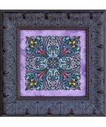 Snowdrops mandala cross stitch chart chart Ink Circles  - $8.00