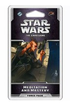Star Wars LCG Card Game Meditation and Mastery Force Opposition Pack New... - $12.95