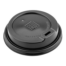 500-CT Disposable Black Lid for Coffee and Tea Cups - Fits 8-OZ, 12-OZ a... - $56.89