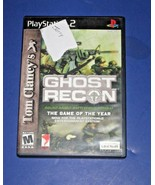 2 For 1  Deal:  Tom Clancy's Ghost Recon And Ghost Recon 2 For Sony PS2 ... - $7.91