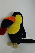 Stuffed Plush Zoo TOUCAN Bird Parrot Large Beak 42x24  - $37.99