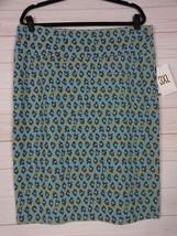 Lularoe Women's Disney Cassie Skirt Blueish Gray with Donald Duck Size 3... - $24.99