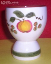 """STANGL APPLE DELIGHT EGG CUP  3 1/4"""" - $8.95"""