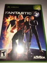 Fantastic Four Xbox New Xbox-TESTED COLLECTIBLE VINTAGE FAST SHIP IN 24 Hrs - $6.96