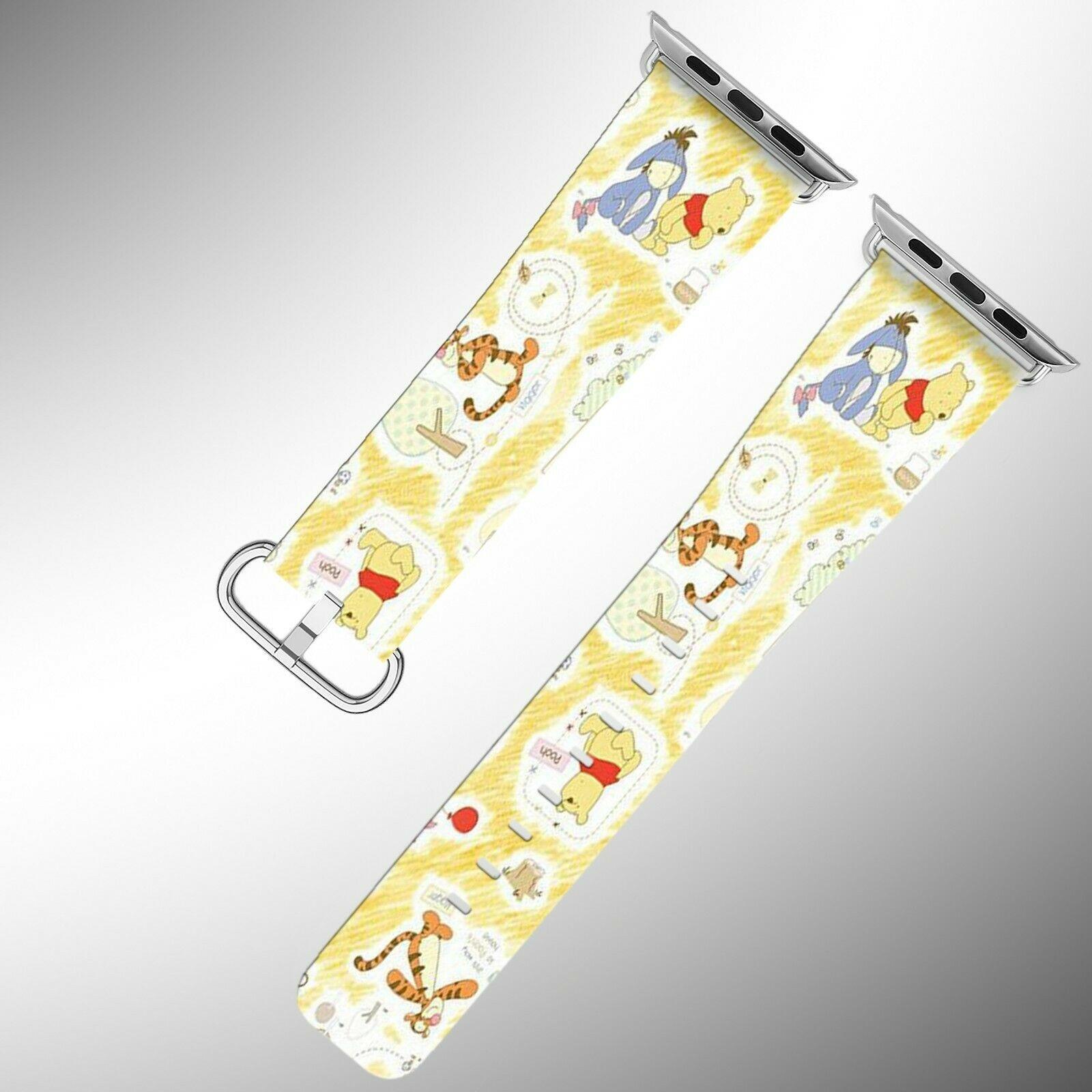 Winnie the Pooh Apple Watch Band 38 40 42 44 mm Disney 1 2