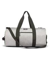 Victoria's Secret PINK Logo Gray Marl Large Gym Duffel Bag NWT - $40.08