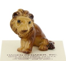 Hagen Renaker Miniature Lion Papa Ceramic Figurine