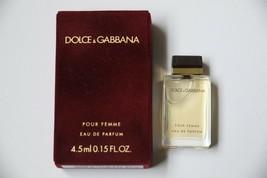 Dolce & Gabbana D&G Pour Femme Women Perfume 4.5 ml Mini EDP Splash Parfum - $14.99