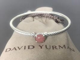 $350 DAVID YURMAN Women's 3mm Chatelaine Bracelet with Guava Quartz - $199.99