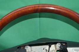 05-07 Chrysler 300 300c Leather Woodgrain Steering Wheel image 6
