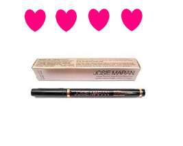 New JOSIE MARAN Magic Marker Argan Liquid Eyeliner INK Soft Black Full S... - $11.02