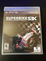 SBK X: Superbike World Championship (Sony PlayStation 3) Complete, Free ... - $8.00