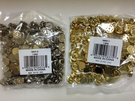 Wholesale LOT 144 SETS Gold Color Tie Tack Tacks w/Clutch Crafts Jewelry... - $19.88