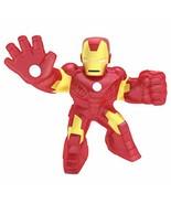 Heroes of Goo Jit Zu Licensed Marvel Hero Pack - Iron Man, Multicolor (4... - $29.39
