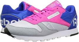 "Reebok Classic Leather ""Tripstore"" Women 9.5 Grey Pink New Comfortable Running - $89.09"