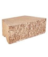 Concrete Retaining Wall Block Textured Tan (144-Piece/46.5 sq. ft./Pallet) - $1,013.28