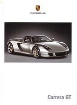 2003/2004 Porsche CARRERA GT brochure catalog US 03 04 - $20.00