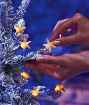 50-Pcs. Star Light Pop-Ons Bulb Covers Christmas Tree Decor with FREE Or... - €15,26 EUR