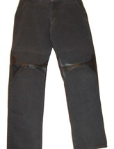 FERRE Men's Black  Casual  Italy Pants Trousers Size  40 54 - $46.03