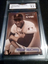1998 fleer sports illustrated Willie McCovey GMA Graded 8.5 NM-MT+ baseball 21 - $7.75