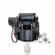 SBF Ford Small Block 351W Windsor HEI Ignition Black Cap Distributor 65K Coil image 2