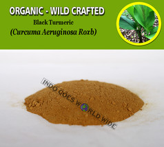 POWDER Black Turmeric Curcuma Aeruginosa Organic Wild Crafted Fresh Natu... - $7.85+