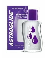 3 Pack Astroglide Original Personal Water Based Lube Lubricant 2.5 Oz Each - $21.29