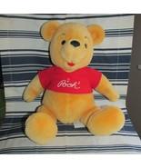 winie the pooh 1980s vintage disneyland plush stuffed animal moveable ar... - $14.03