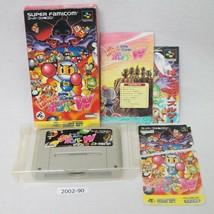 Nintendo Snes Panic Bombardiere World Man Scatola Funzionante Sfc Giochi... - $14.05