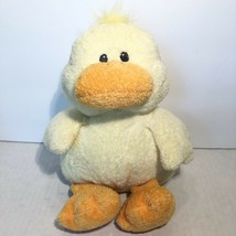 TY Pluffies Waddler Yellow Duck Plush Stuffed Baby Lovey Stitched Sewn Eyes 2008 - $16.68