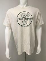 Herb Pharm T Shirt Williams, Oregon USA Hanes Beefy Tee Adult XL 46-48 B... - $19.60