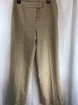 """Pendleton Womens Tan Virgin Wool Fully Lined Pants Career 32"""" Waist - $29.69"""