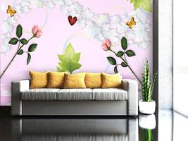 3D Frisch gepflückt Blumen 03 Fotapeten Wandbild Fototapete BildTapete FamilieDE - $52.82+