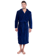Verabella Unisex Plus Size Plush Robe Flannel Hooded Bath Robe - Choose ... - $48.16+