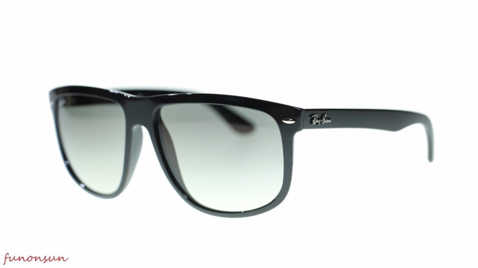 Ray Ban Man's Sunglasses RB4147 601/32 Black Gray Gradient Lens Authentic