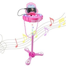 WISHTIME Girls Karaoke Machine Music Toys Multifunction Music Player Fas... - $43.85