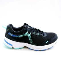 Ryka Womens Intrigue 2 Mesh Lace-Up Sneakers Shoes Navy Blue 8.5M - $39.59