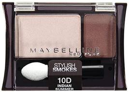 Maybelline New York Expert Wear Eyeshadow Duos, 10d Indian Summer Stylis... - $8.99