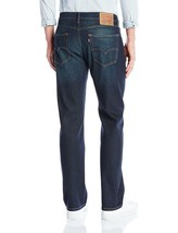 Levi's Strauss 505 Men's Cotton Straight Regular Fit Stretch Jeans 505-1431 image 2