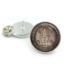 Vintage Coin Lapel Tie Pin Badge, Vintage Coins, Coin, Coin lapels, ,coi... - $6.50
