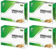 4 x GreenVigo, Ultra Strong Male Virility Sexual Performance ! - $311.55