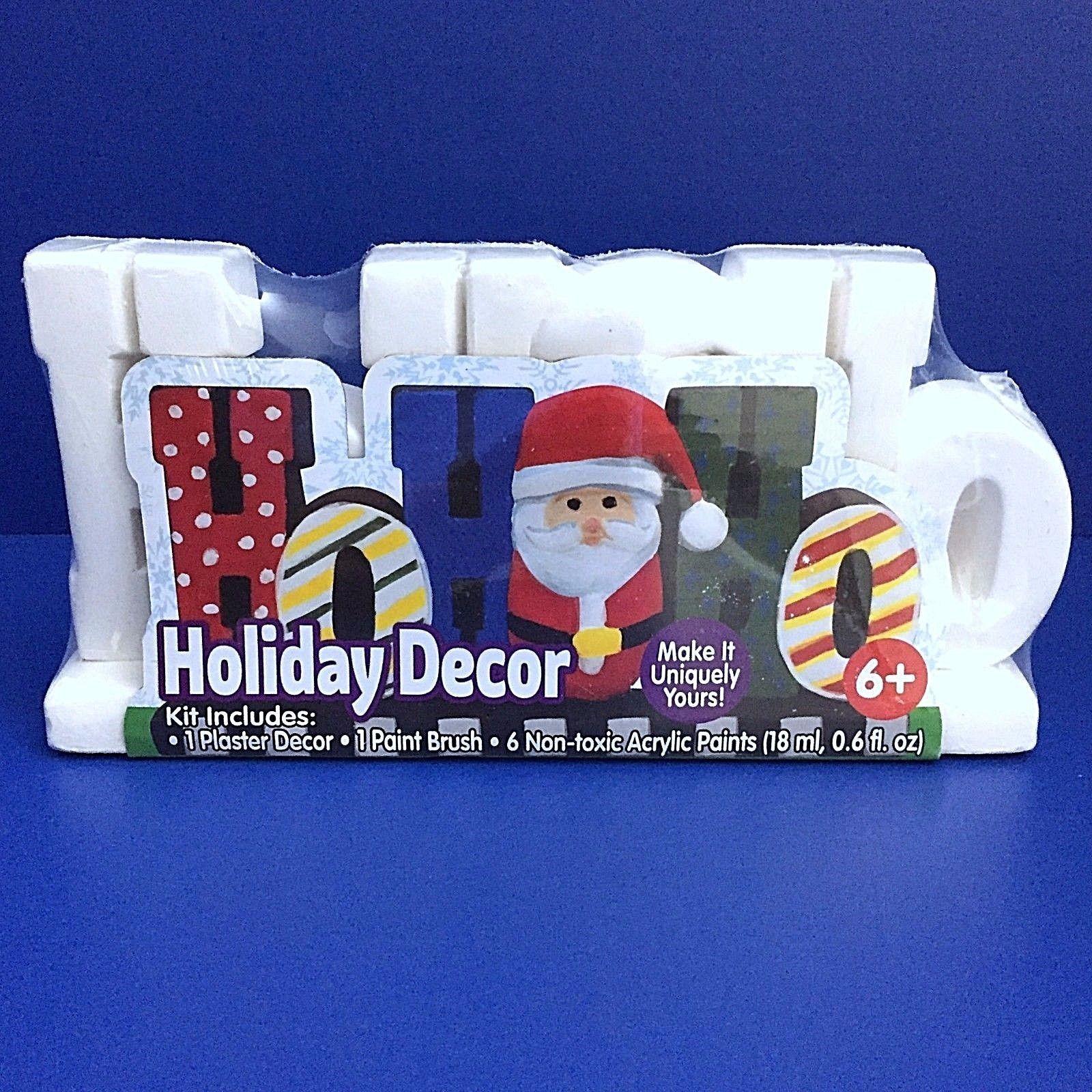 ea9f2b18dc2b9 Santa Ho Ho Ho Holiday Plaster Decor Acrylic and 50 similar items. S l1600