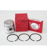 Honda CB100 CL100 SL100 XL100 Piston & Ring Oversize 0.25 New - $28.79